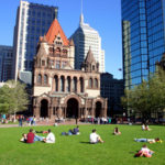 Copley Square Park-Bay Bay-Boston, MA-Trinity Church-John Hancock